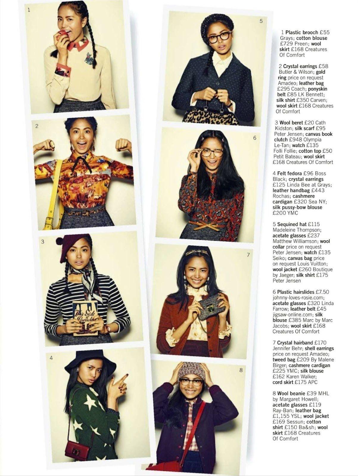 Asian models blog editorial charlene almarvez in uk glamour