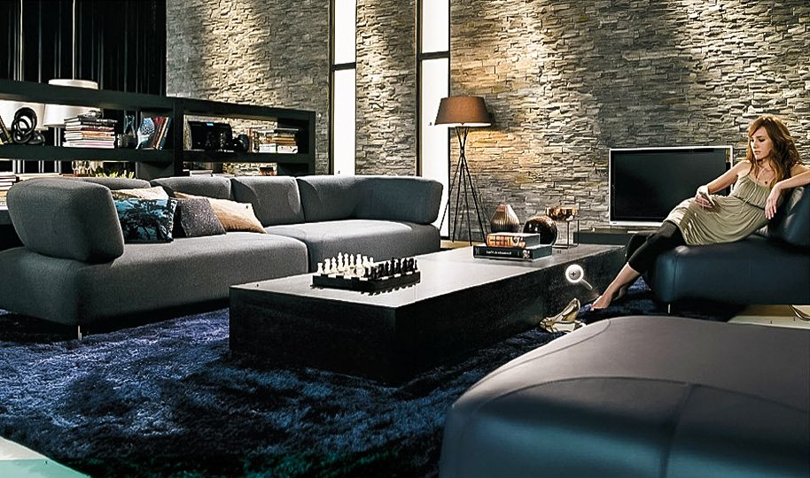 Living Room Ideas With Dark Blue Carpet Smartpersoneeossier Wall