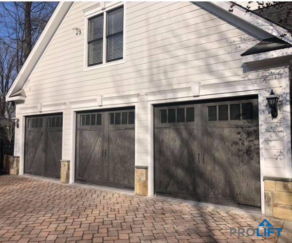 Garage Door Styles With Faux Wood Garage Door Styles Wooden Garage Doors Carriage House Doors