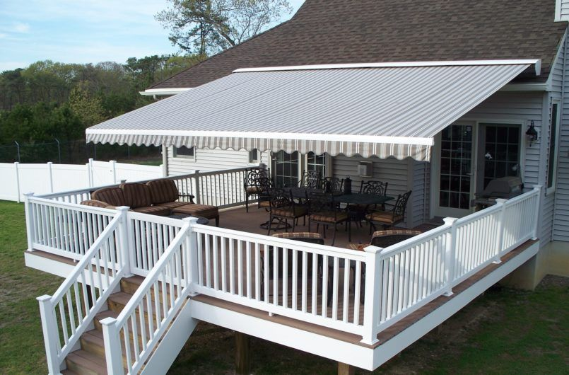 Exterior Retractable Awning Replacement With Diy Also Patio Reviews And Sunbrella Besides How To