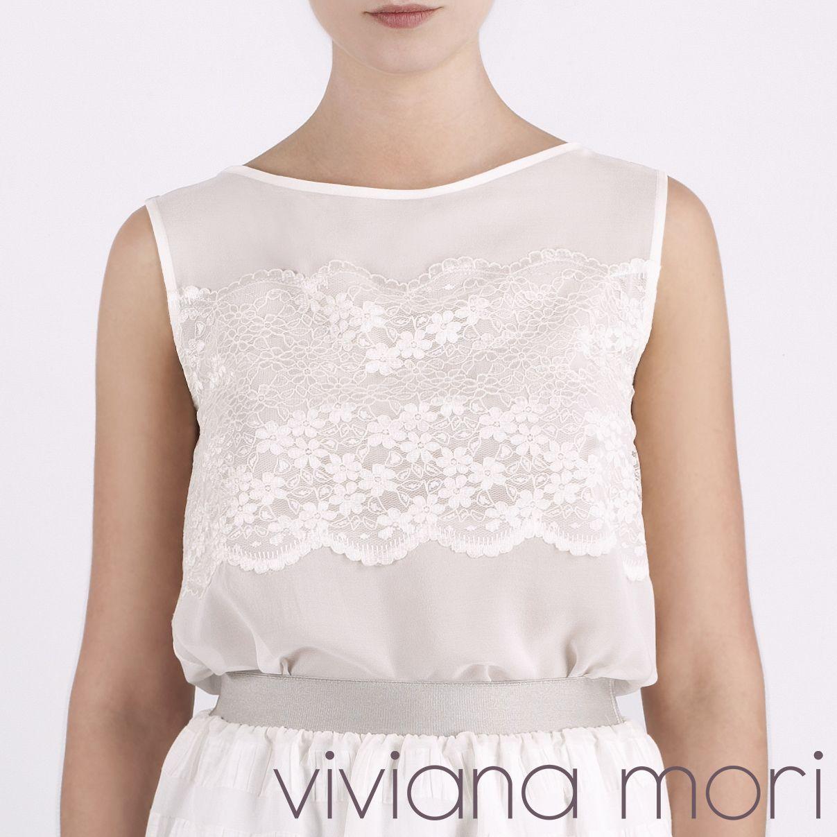 Viviana Mori Magnolia Top | vivianamori