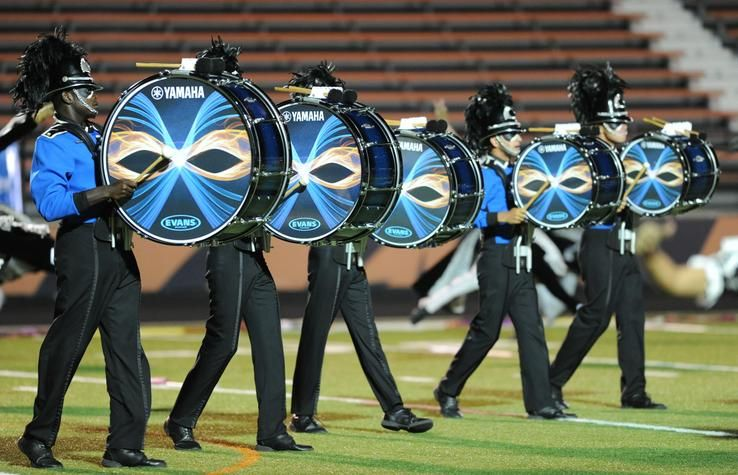 These Drums Though3 Bluecoats ColorguardDrum Corps International DrumlineMarching