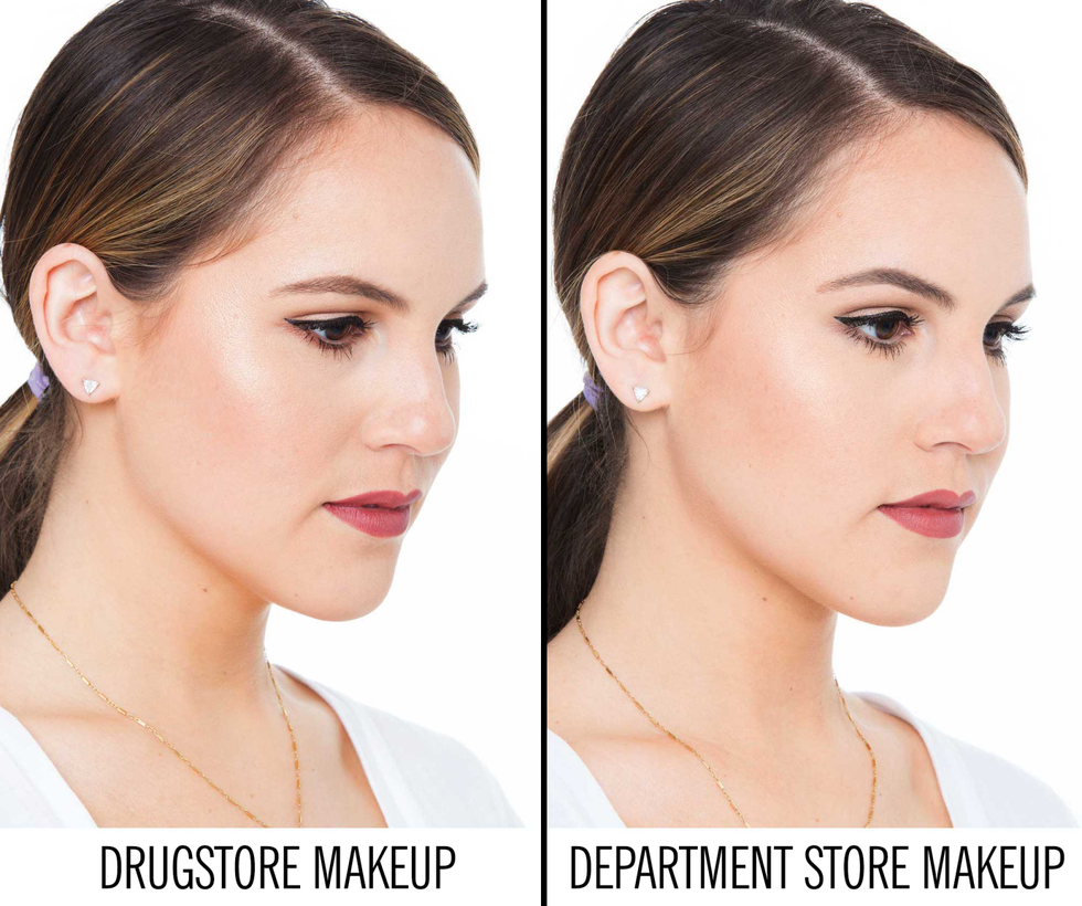 I Compared Drugstore and Department Store Makeup, and the