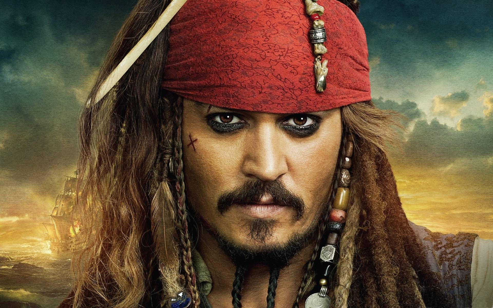 Jack Sparrow HD desktop wallpaper : High Definition
