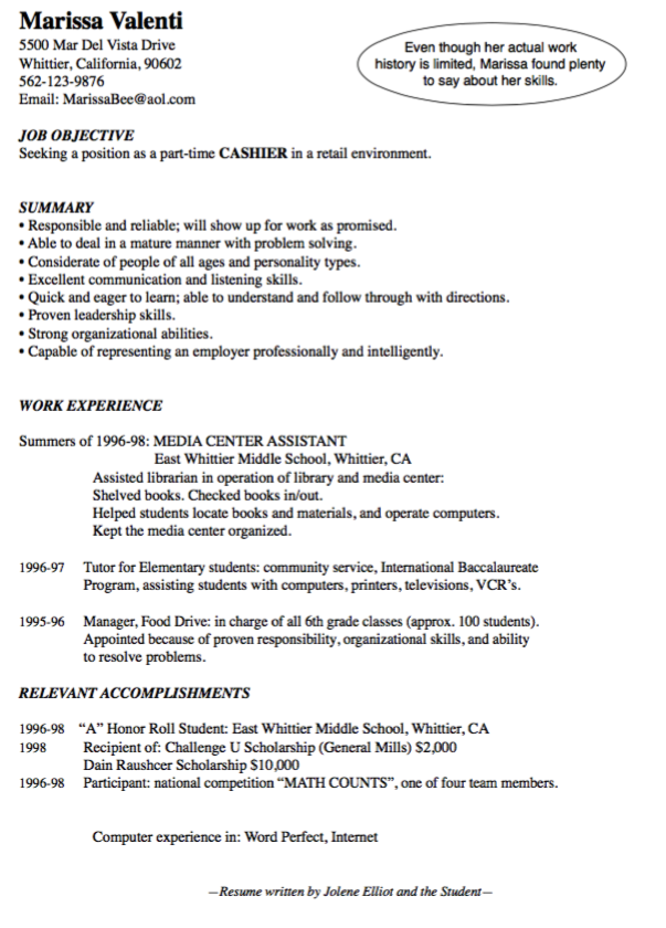 How To Write A Resume For A Scholarship Cashier Resume Examples  Httpexampleresumecvcashierresume .