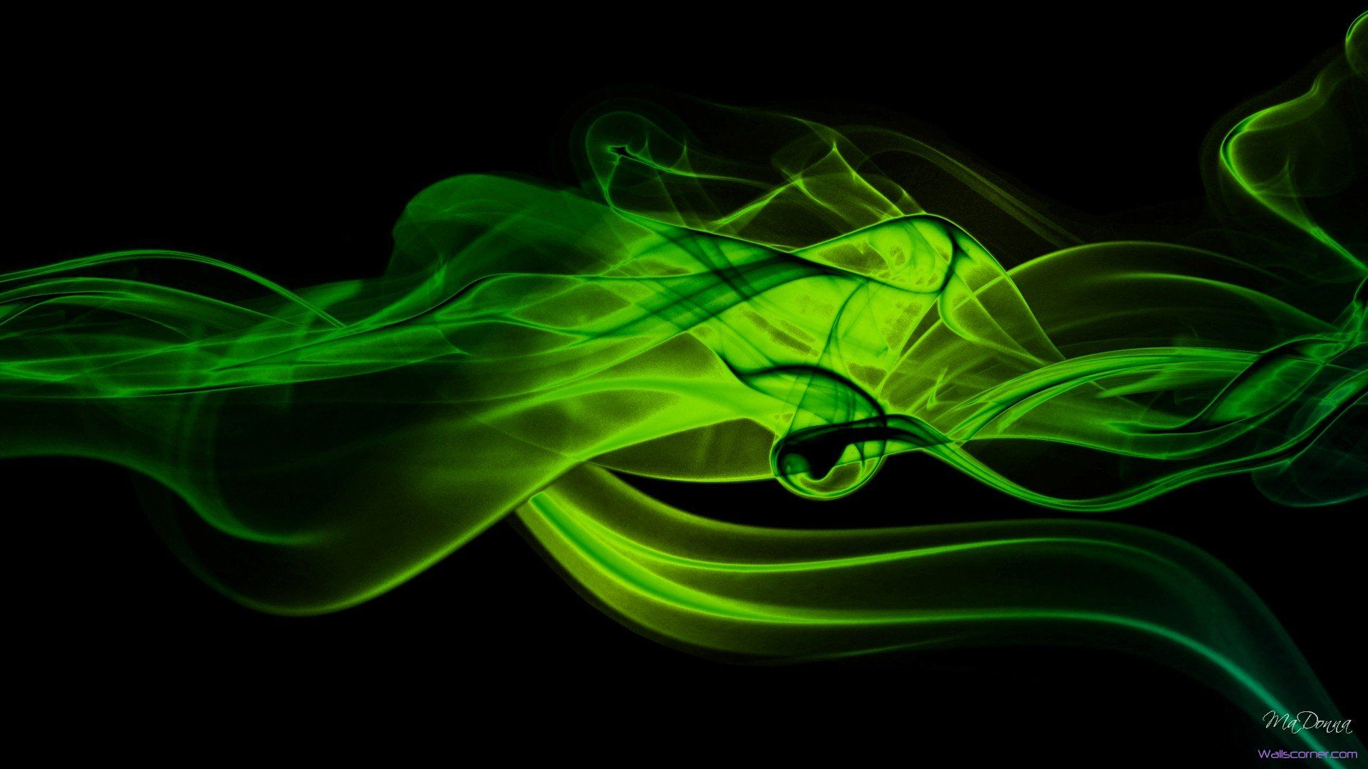 Green Smoke Abstract Hd 1920x1080 Jpg 1920 1080 Lime Green