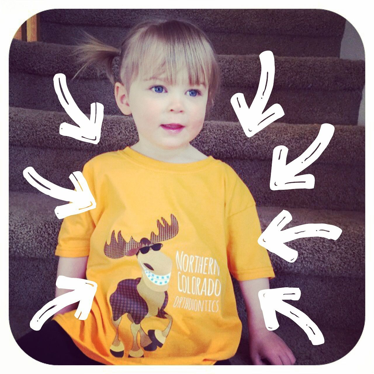 Our New T-Shirts Are Super Awesome!| The Braces Blog | Northern Colorado Orthodontics Moose with braces and 970 shirts are here!