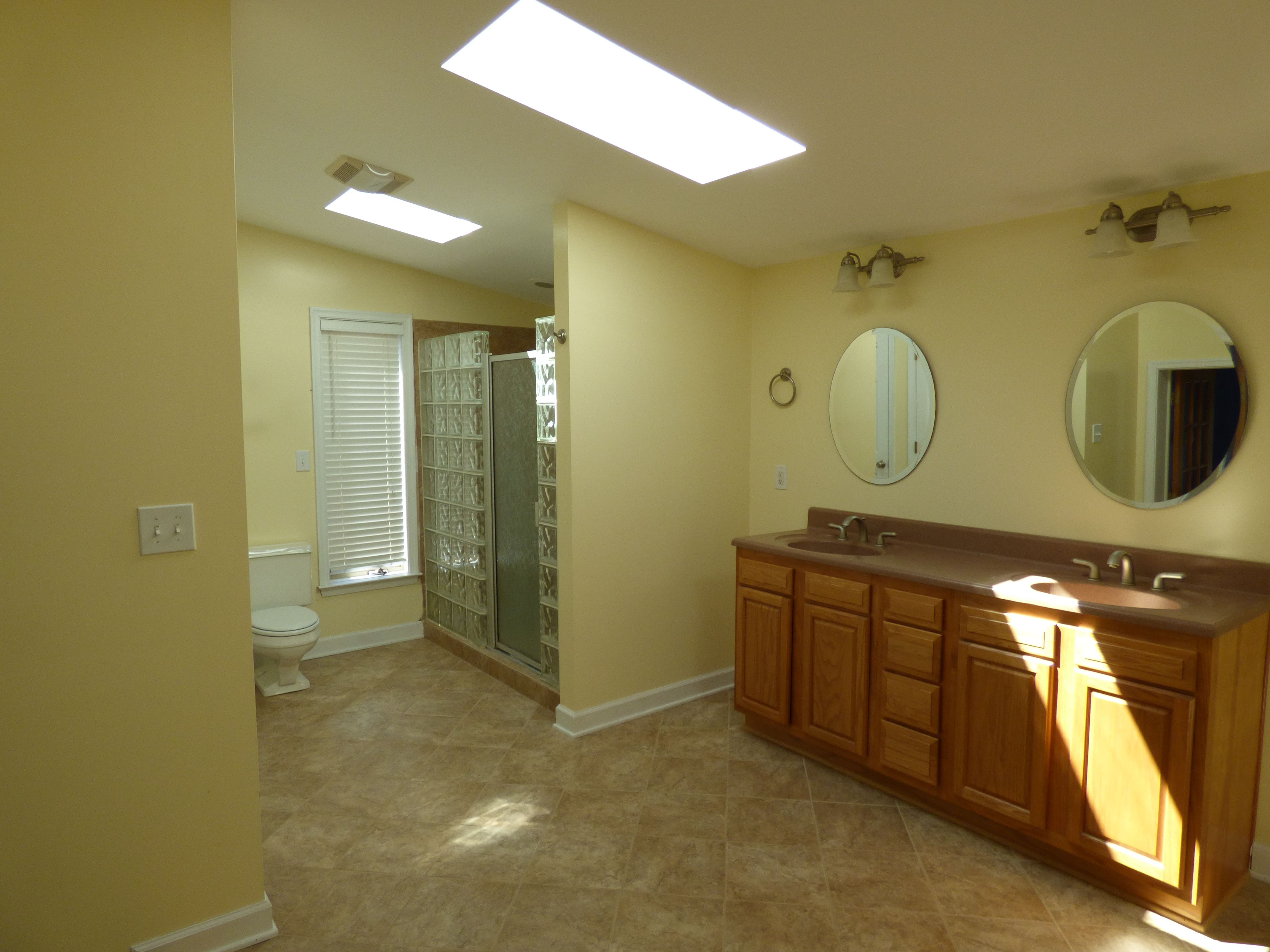 Huge spa bath with skylight in this beautiful 4 Bedroom, 3 Bath ...