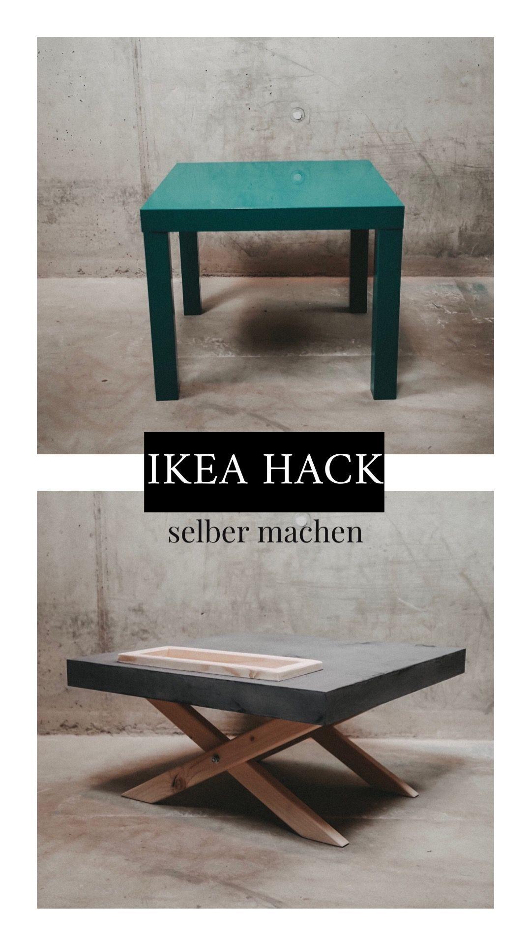 IKEA LACK TISCH HACK upcycling zum beton Tisch Ikea Lack