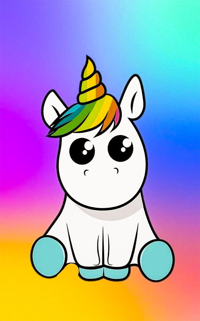 Unicorn unicorn wallpaper for android   Dessin licorne ...