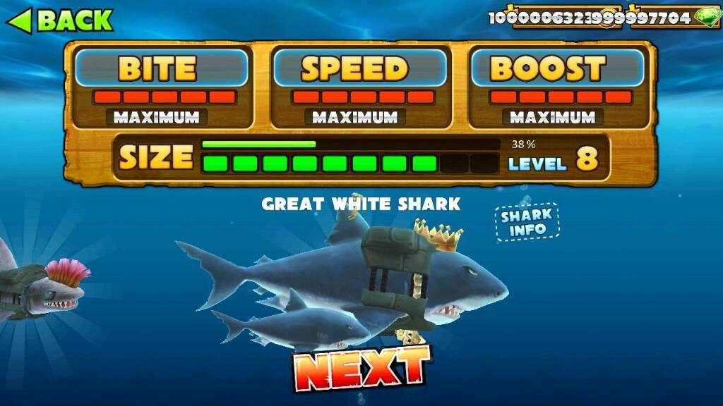 чит на деньги на игру акула