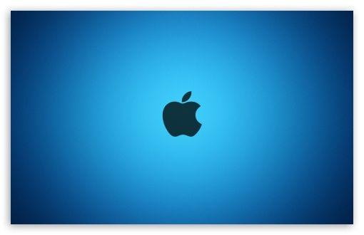 Download Apple Blue Logo Hd Wallpaper Blue Logo