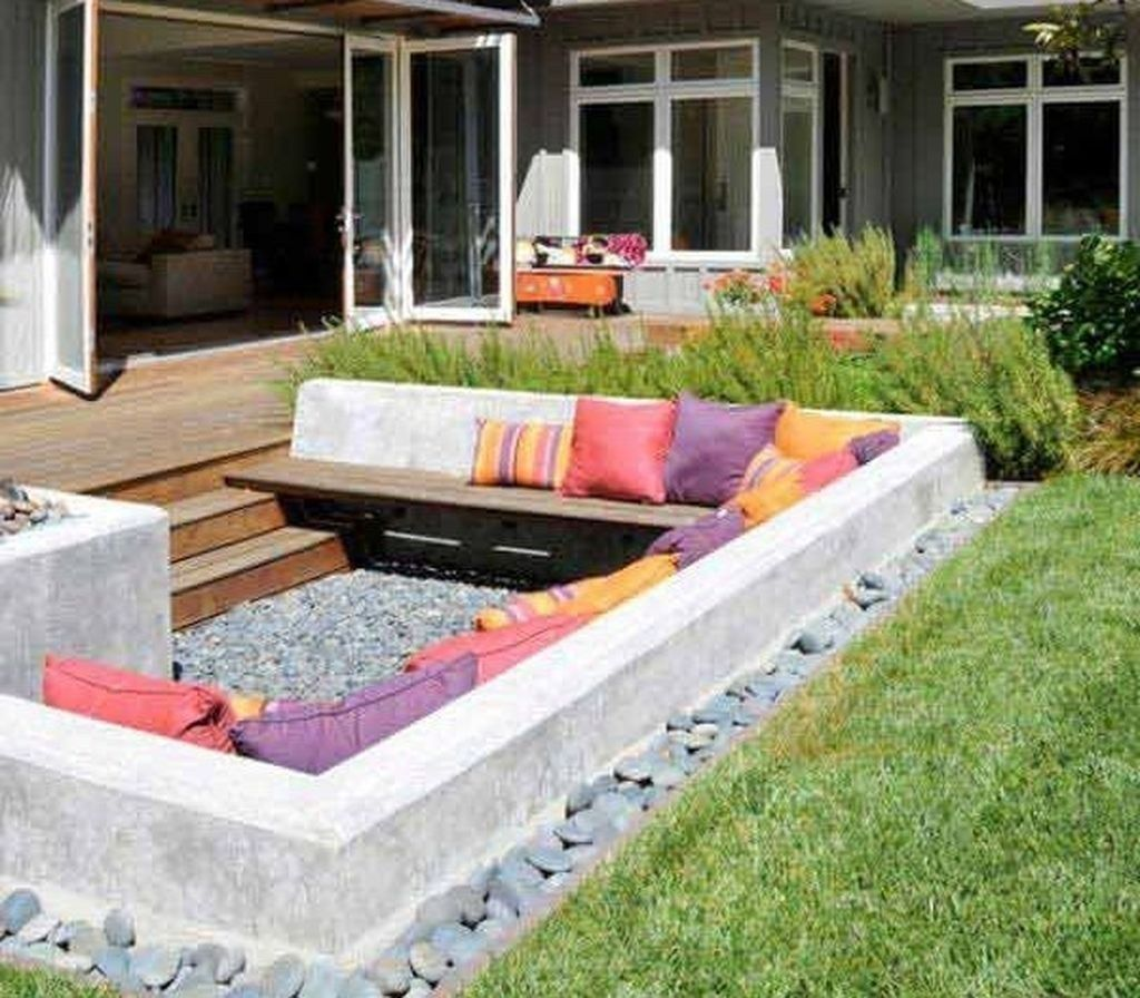 47 lovely sunken ideas for backyard landscape with images on awesome backyard garden landscaping ideas that looks amazing id=18158