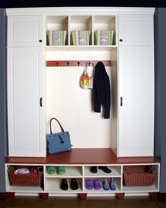 Mudroom Closet Ideas This Set Up Would Be Ideal Across