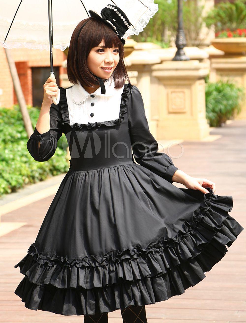 Lolita dress Classic Gothic Style ^^