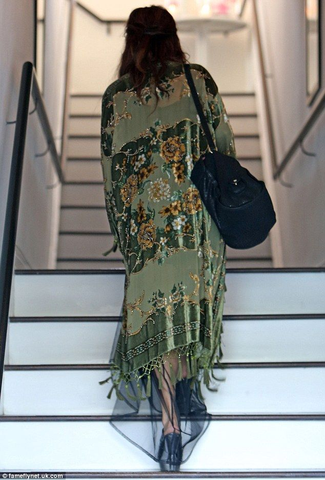 Vanessa Hudgens gives her boho style a Goth edge a