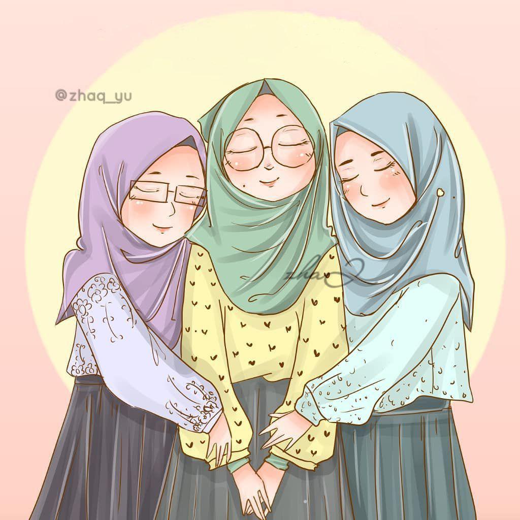 By Zhaq Yu Seni Islamis Ilustrasi Karakter Kartun