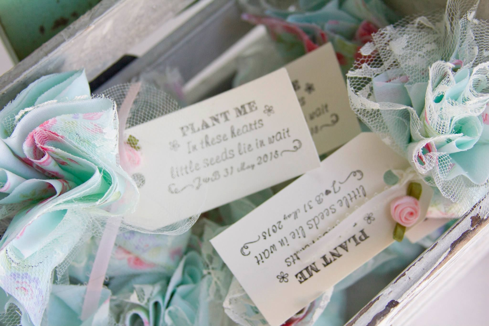 My personal favorite. My bridal shower seed bomb favors. So pretty ...