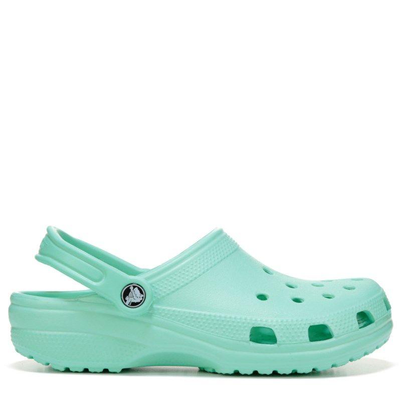 ebff6a599ae5a0 Crocs Women s Classic Clog Shoes (New Mint)