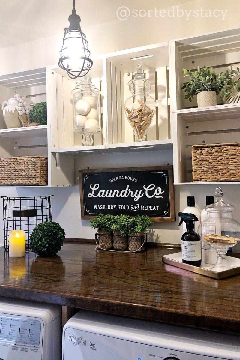 Farmhouse laundry room ��� Diese Waschküche für meine Kundin wurde von einer Anstecknadel