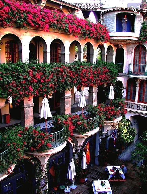 CA – The Mission Inn Hotel & Spa, Riverside, Riverside county, California, USA. This hotel is used as a wedding venue. It's located at 3649 Mission Inn Ave. & Orange St. https://www.google.ca/maps/place/The+Mission+Inn+Hotel+%26+Spa/@33.983373,-117.3901652,14z/data=!4m5!3m4!1s0x80dcb1faadc97483:0xb2cb1ebc0a95bfb2!8m2!3d33.983373!4d-117.373004