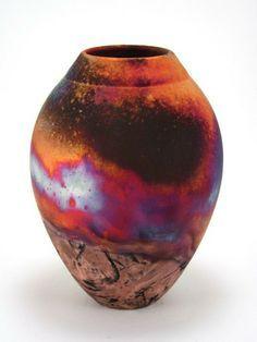 matt raku pottery | copper raku raku pottery raku copper handthrown raku raku studios ...