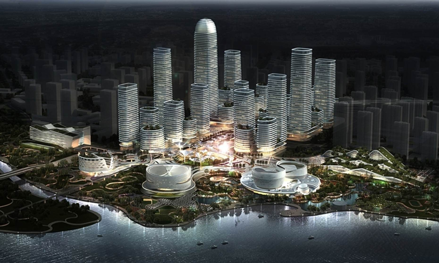 Binhai Eco City aims to be a case study for green urban planning