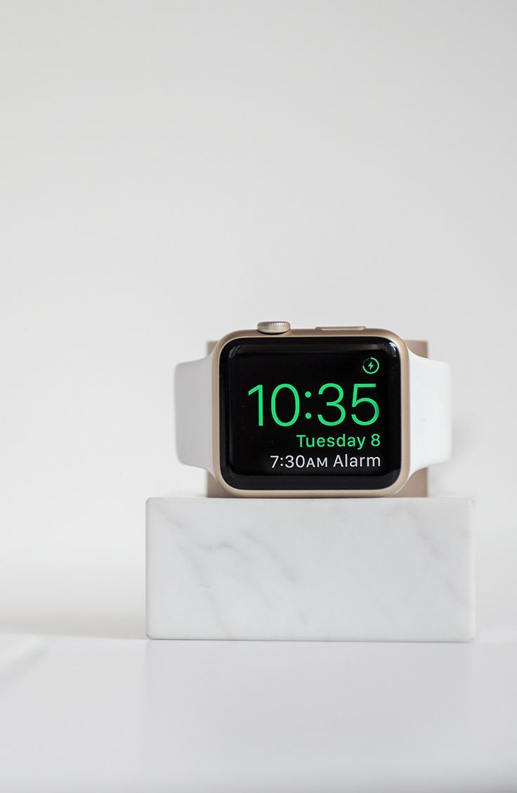 DOCK for Apple Watch Marble Edition futuristictechnology