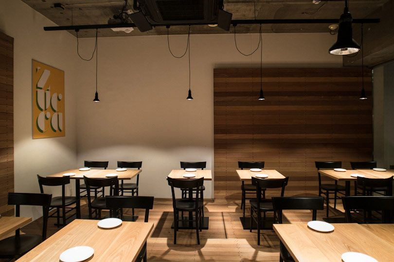 Zucca restaurant restaurants interiors and japan design