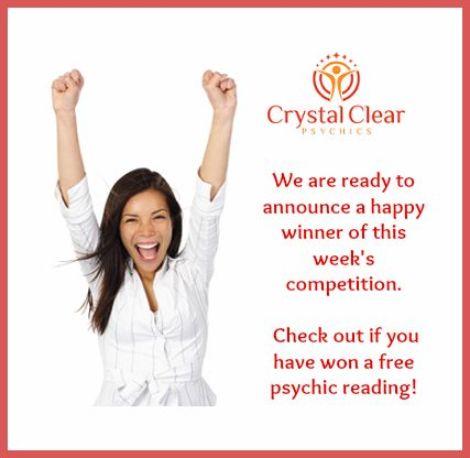 Have you won a FREE Psychic Reading, Click here to find out
