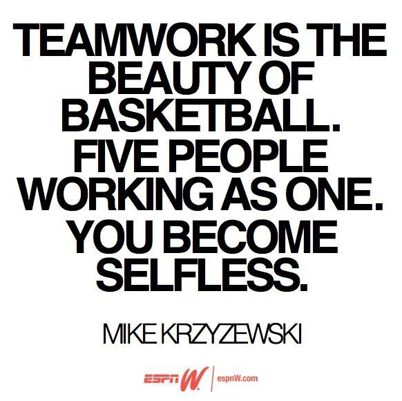 Teamwork Relationship Quotes: For The Love Of Basketball