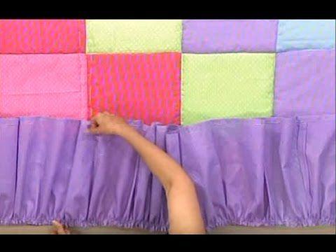 Edredon de parches de Sonia Franco. 5/5   YouTube | lencería
