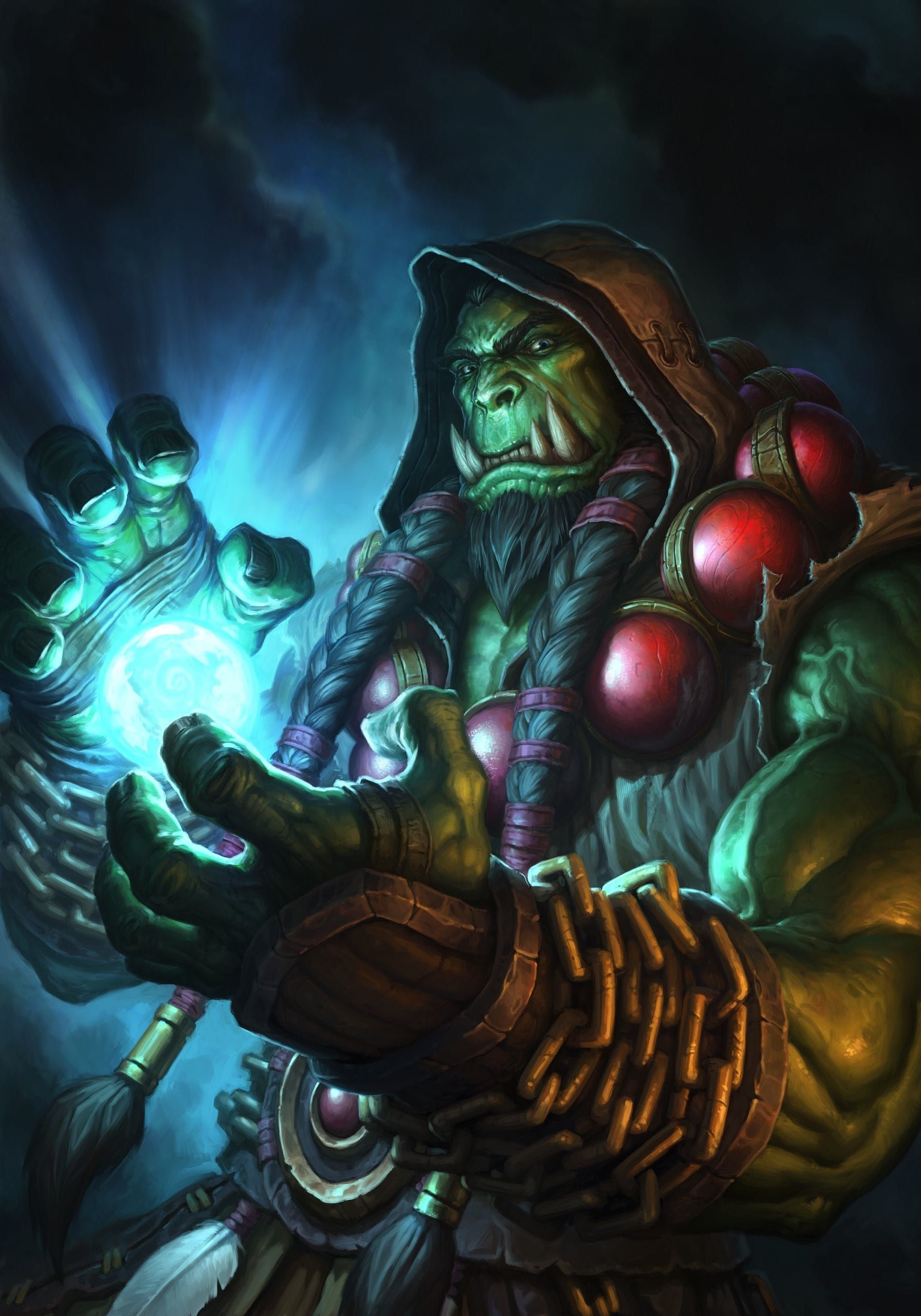 Wow Thrall Hd Desktop Wallpapers Guerrera De Fantasia Fantasia