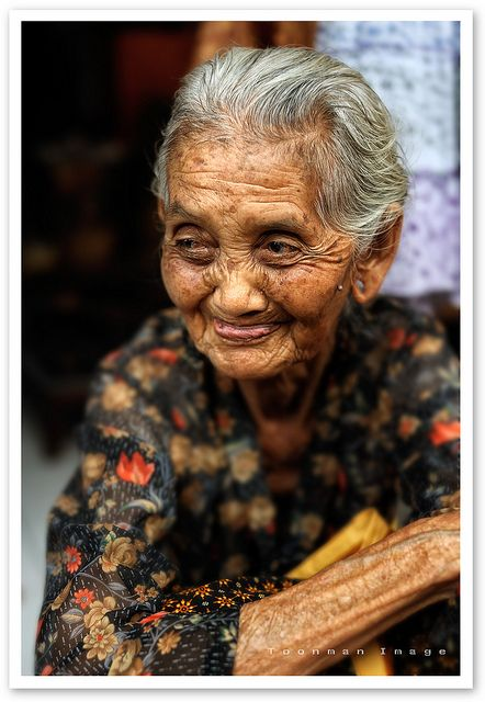 Faces of Bali: Ubud woman