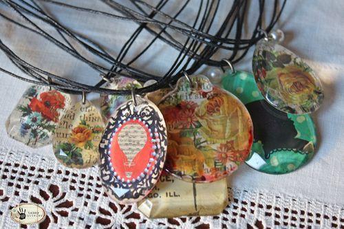 Tammy Tutterow Tutorials: easy acrylic pendants