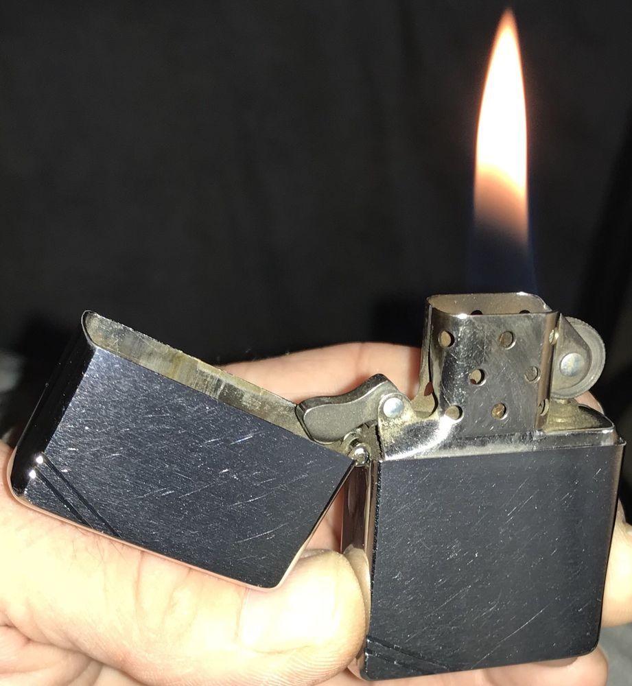 2004 Vintage Series 1937 Corner Slash Zippo Lighter In Box Dependableflame Hdsa Zippo Zippo Lighter Zippo Lighter