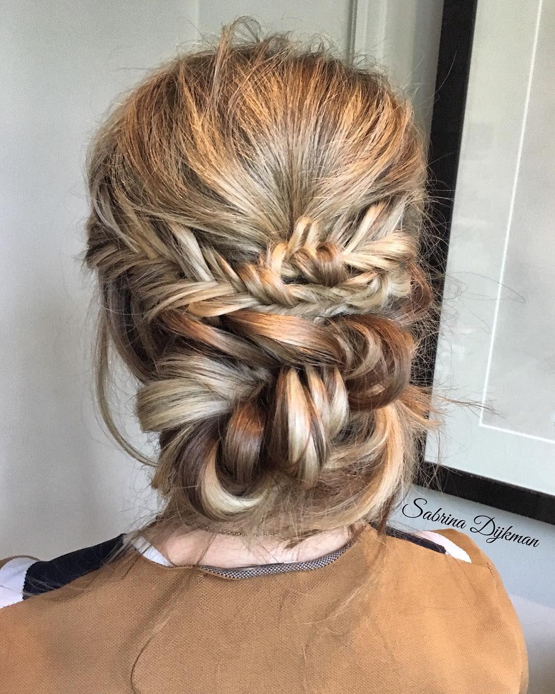 Beautiful Updos Wedding Hairstyle by Sabrina Dijkman