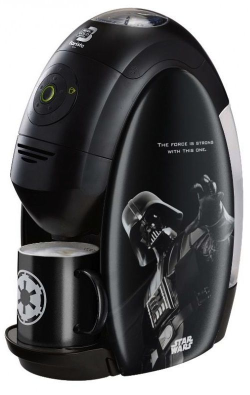Nestlé Introduces Limited Edition 'Star Wars' Coffee Machine - DesignTAXI.com