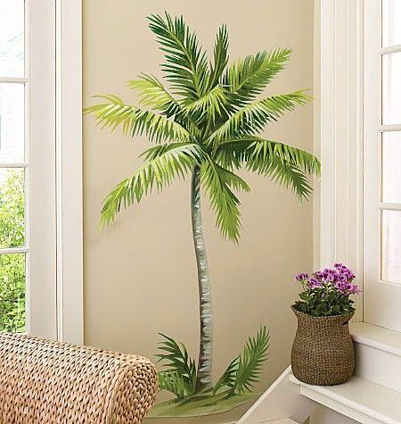 wallies wandsticker wandtattoo palme gestalte deine eigene welt mit der fantastischen. Black Bedroom Furniture Sets. Home Design Ideas
