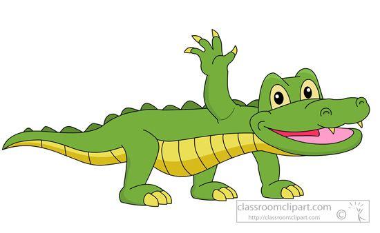 Alligator Clipart Alligator 910 Classroom Clipart Amphibians Amphibians Activities Cute Funny Animals