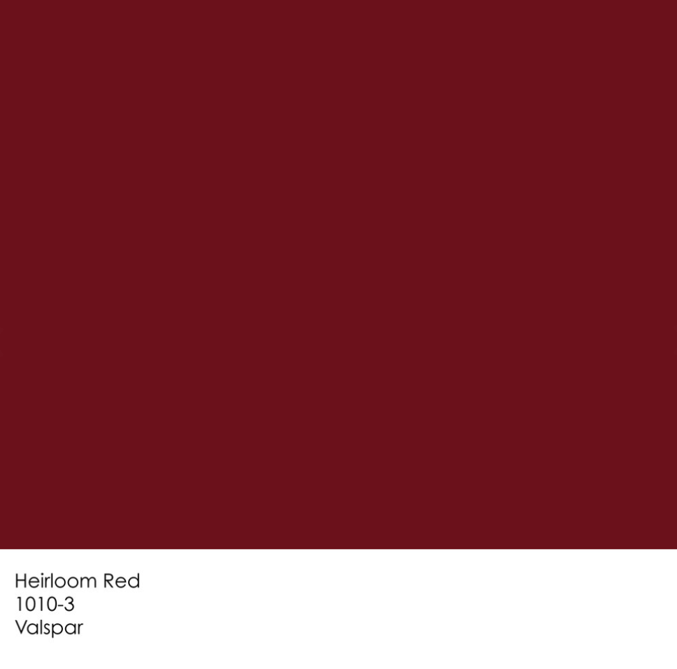 valspar heirloom red | colours & samples | pinterest | valspar