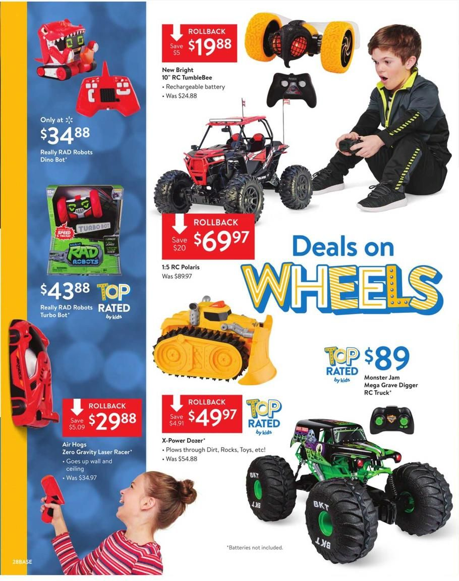 Walmart Toy Books Ad Scan, Deals and Sales 2019 Walmart