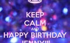 Happy Birthday Jenny Quotes