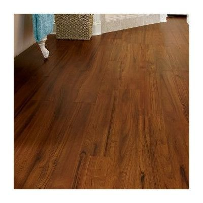 """Armstrong Luxe Exotic Fruitwood 5"""" x 48"""" x 4.06mm Luxury Vinyl Plank in Nutmeg"""