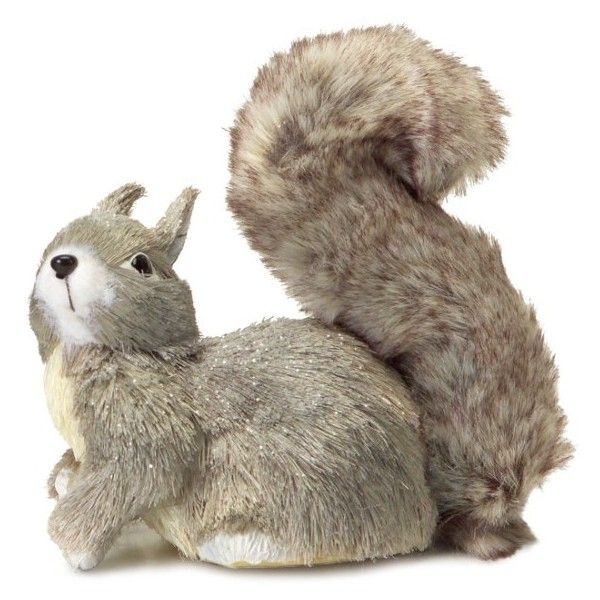 Melrose Gifts Sisal Squirrel Decoration (19 CHF) ❤ Liked On Polyvore  Featuring Home,