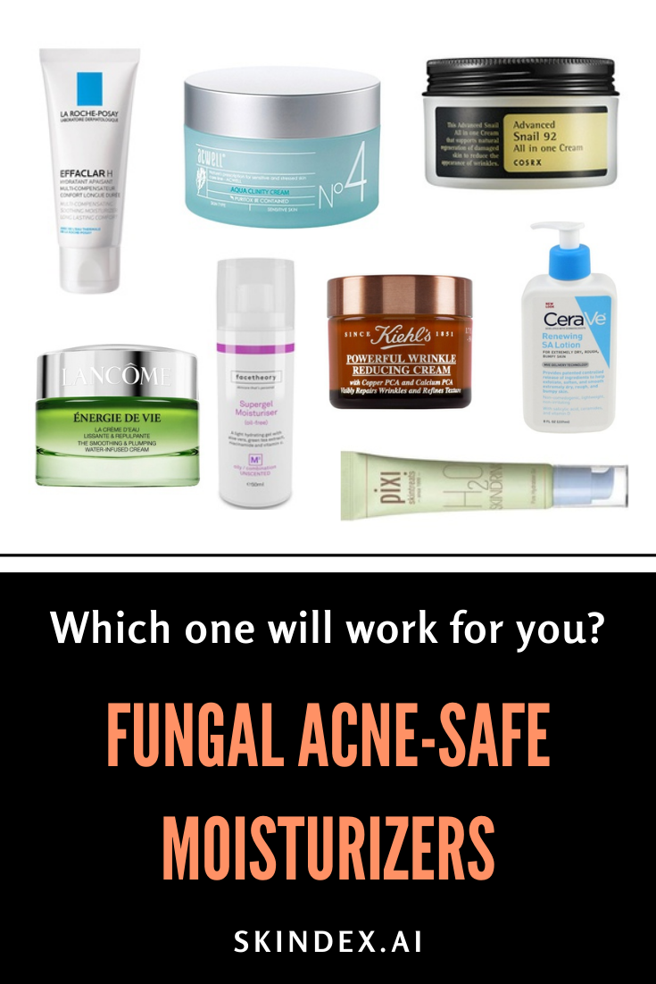 Fungal Acne Safe Moisturizers Which One Will Work For You Treating Dry Skin Sensitive Skin Care Skin Eczema