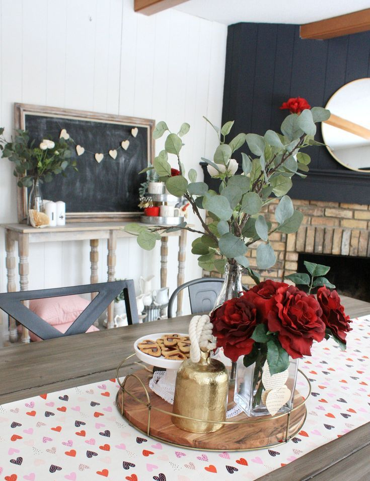 Sweet and Simple Valentines Day decor - One Thousand Oaks ...