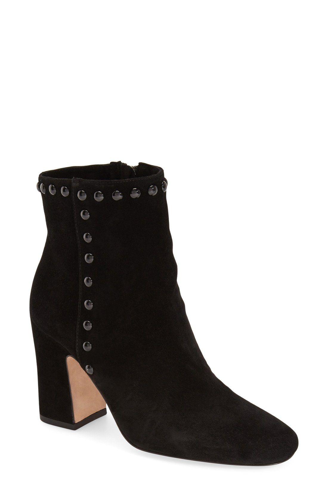 Womens Boots COACH Felicia Black Suede