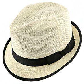 f787f3c331e8f Ego - DPC LS172 Ivory Matte Toyo Straw Fedora Hat