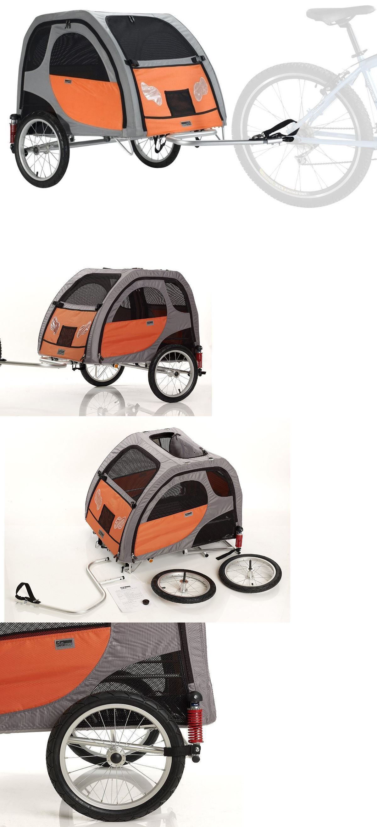 Bike baskets and trailers bike trailer for dogs pet bicycle